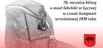 78. rocznica bitwy o most lubelski w Łęcznej