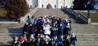 Słoneczny wtorek w Lublinie