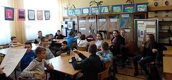 Międzynarodowy Dzień Pisarzy w bibliotece szkolnej