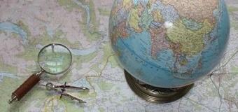 Wędrujemy po mapie świata