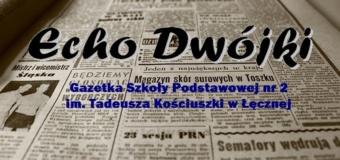 """""""Echo Dwójki"""" – gazetka szkolna"""