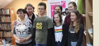 Spotkanie autorskie z pisarką Renatą Piątkowską
