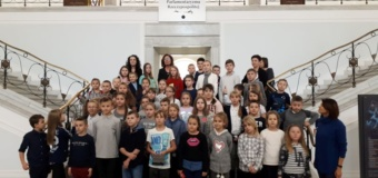 Uczniowie w stolicy