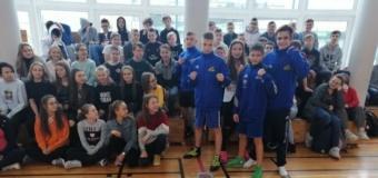Promocja boksu w szkole
