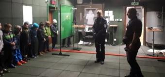 Z wizytą w Komendzie Powiatowej Policji