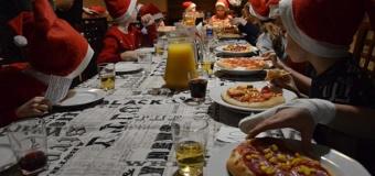 Mikołajkowa pizza