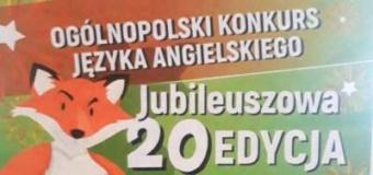 Ogólnopolski Konkurs Języka Angielskiego FOX