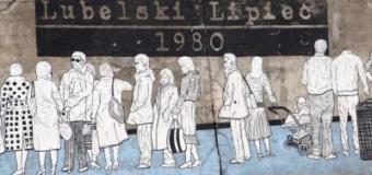 Artyści naszej szkoły na obchodach Lubelskiego Lipca 1980