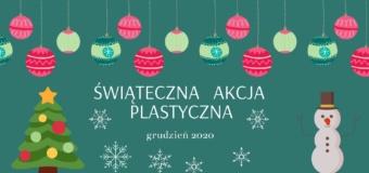 Świąteczna akcja plastyczna
