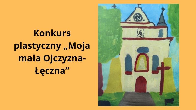 Logo konkursu Moja mała Ojczyzna Łęczna