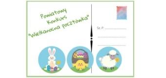 """Wyniki Powiatowego Konkursu Plastycznego """"Wielkanocna pocztówka"""""""