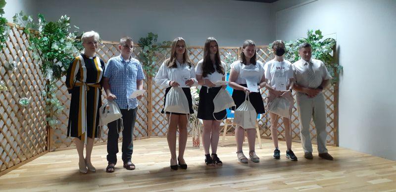 Laureaci Wojewódzkiego Konkursu Literackiego- kategoria szkoła podstawowa